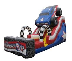100 Patriot Truck The Monster 18 Slide Airbounce Amusements