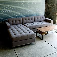 West Elm Crosby Sofa Sectional by Furniture Modern Tufted Sofa For Extra Aesthetic Appeal U2014 Emdca Org