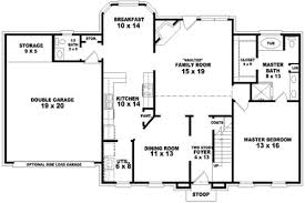 Of Images American Home Plans Design by Early American Style House Plans Plan 6 1652