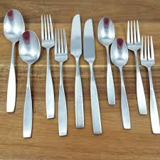 10 Pc Oxford Hall SECRETARIAT Stainless Steel Korea Flatware Forks ... Storage Bins Pottery Barn Metal Canvas Food Gold Flatware Set Cbaarchcom Ikea Mobileflipinfo Setting A Christmas Table With Reindeer Plates Best 25 Rustic Flatware Ideas On Pinterest White Cutlery Set Caroline Silver20 Piece Service For The One With The Catalog And Winner Yellow Woodland Fall By Spode Fall Smakglad 20piece Ikea Ideas For Easter Brunch Fashionable Hostess