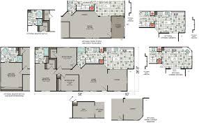 Triple Wide Modular Homes Floor Plans by Flooring Manufactured Homes Floor Plans Triple Wide Home Lock