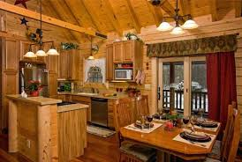 Log Cabin Kitchen Cabinet Ideas by Log Home Kitchen Cabinets Best Area Rugs For Kitchen Design Ideas