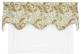 Jacobean Floral Design Curtains by Ellis Curtain Valerie Jacobean Floral Print 70
