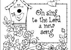 Related Music Coloring Pages For Kindergarten Free Sunday School Preschoolers