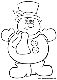 Christmas Coloring Picture Free Printable
