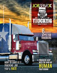 JobSparx TRUCKING 2016 By JobSparx - Issuu Local Owner Operator Trucking Jobs Operators La Dicated Trucking Job Southern Loads Only Job In Baton Rouge Usps Truck Driver The Us Postal Service Is Building A Self Driving Jobs Could Be First Casualty Of Selfdriving Cars Axios Tlx Trucks Flatbed Driving In El Paso Tx Entrylevel Afw Otr Recruitment Video Youtube Home Shelton Opportunities Stevens Drivejbhuntcom Company And Ipdent Contractor Search At Jobsparx 2016 By Issuu