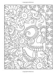 Mindful Colouring Day Of The Dead
