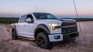 Tackling Sand Dunes In The 600-hp Roush F-150 SC - Video - Roadshow 2016 Ford F150 Roush Phase 2 Sc 2017 Lariat Need Front License Plate Mounted Forum Roushs 650 Horse Amazes Truck Fans At Sema Review Performance 2018 F250 Super Duty 2014 Roush Rt570 Truck Fx4 570hp Supercharged Ford F 150 14 Raptor New Raptor And Supercharged Offroad Like Custom 590hp Youtube Nitemare 600hp For Sale 060 In Arrives With 600 Hp