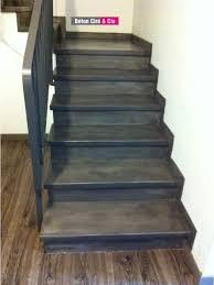 beton cire sur escalier bois beton cire sur escalier meilleures images d inspiration pour