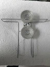 zeitschriftenhalter mit saugnapfbefestigung für glatte wände