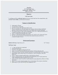 Resume Sample Call Center Agent Terrific Centre High Energy Resilience And