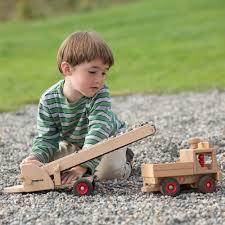 100 Fagus Trucks Conveyor Belt Wooden Toy Trucks Wooden Toys Toy Craft