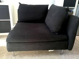 Ikea Soderhamn Sofa Legs by Ikea Söderhamn Sofa Corner Section Chair U2013 Black 50 In
