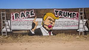 Famous Mexican Mural Artists by Artists Use Colourful Murals To Decorate Us Mexico Border Wall And