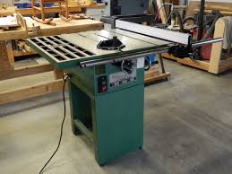 Used Grizzly Cabinet Saw by New Table Saw