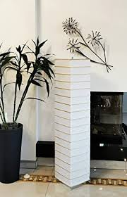 trango 1214 modern design reispapier stehle wohnzimmer le handmade in eckig europa mit bambus deko stäben stehleuchte 125cm hoch