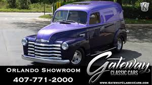 100 1952 Chevy Panel Truck 1950 Chevrolet 3100 Gateway Classic Cars 1402ORD