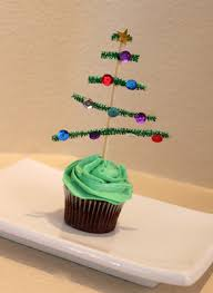 Christmas Tree Cupcake Topper Juggling With Kids