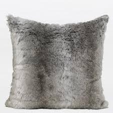 faux fur pillows you ll love wayfair
