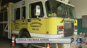 Teen Arrested For Stealing Fire Truck, Going On Joyride Side Yellow Fire Truck Stock Photo Edit Now 1576162 Shutterstock Emergency Why Are Airport Firetrucks Painted Yellow Green 2000 Gallon Ledwell 1948 Chevrolet S225 Rogers Classic Car Museum 2015 1984 Ford F800 Fire Truck Item J5425 Sold November 7 Go Linfield Company No 1 Tonka Rescue Force Lights And Sounds Engine Firetruck Photos Moves Car At Sunny Day Near Station Footage Transportation Old Picture I2821568 Desi Kigar Wooden Toy Buzy Kart Red Blue Free Image Peakpx