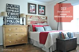 Headboard Designs For Bed by Diy Headboard Between You U0026 Me