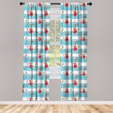 gardine fensterbehandlungen 2 panel set für wohnzimmer schlafzimmer dekor abakuhaus shabby chic anker und kaufen otto