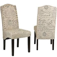 French Script Chair Cushions by French Script Furniture Decor