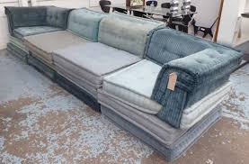 100 Bobois Roche Furniture ROCHE BOBOIS MAH JONG COMPOSITION SOFA By Hans Hopfer Each