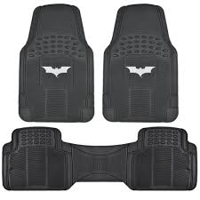 Dark Knight Batman Rubber Floor Mats For Car - 3 PC Set, Warner ... 5 Batman Car Accsories For Under 50 Factor Arkham Knight All Vehicles Batmobile Batwing Motorcyles Monster Truck Coloring Learn Colors With Video Semi 142 Full Fender Boss Style Stainless Steel Raneys Lego Movie Bane Toxic Attack 70914 Target Lego Building Blocks Bat Emblem Badge Logo Sticker Motorcycle Bike Power Wheels Dc Super Friends 12volt Battypowered Kawasaki 14 Turn Suppliers And Manufacturers At Alibacom Seat Cover Carpet Floor Mat Ull Interior Protection Auto Classic Covers 9pc Universal Fit Licensed Color Trucks Jam Pages Brilliant Decoration