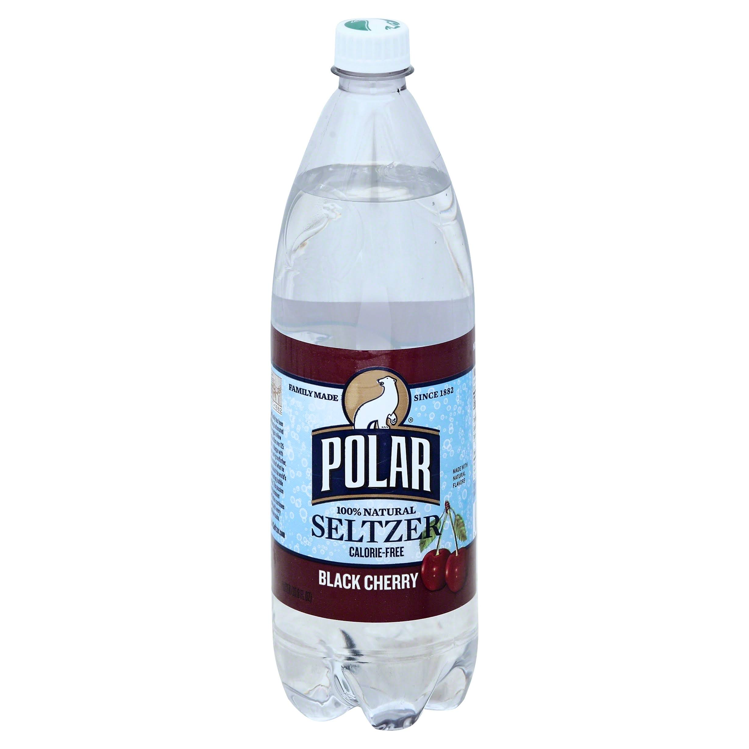 Polar Seltzer - Black Cherry, 1L