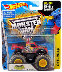 100 Shark Wreak Monster Truck Hot Wheels Jam Devastator 164 DieCast Car Battle Slammer