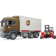 Bruder Scania R-Series UPS Logistics Truck With Mobile Forklift ... Bruder Logging Truck Toy Unboxing Kid Playing With Big Toys Land Rover Defender One Axle Trailerjcb Micro Actros Wtimber Loading Crane 3 Log Trunks 1 Man Timber Truck Loading Crane And Trunks From Trailer Grabber Vehicle By Trucks 02252 Mack Granite 02824 Garbage Rudgreen Amazoncom Mack Tank Buy At Bruderstorech Man Tgs Fuel Tank Online Australia Low Loader W Backhoe Clearance Home Garden With And