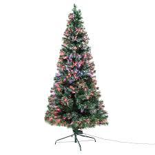 Black Fibre Optic Christmas Tree 7ft by Xmas Christmas Tree