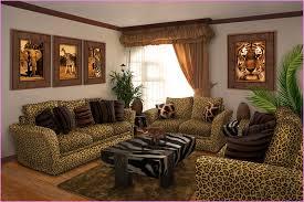 Animal Print Room Decor by Safari Living Room Decor Home Design Ideas
