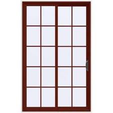 Jen Weld Patio Doors Home Depot by 60 X 96 Sliding Patio Door Patio Doors Exterior Doors The