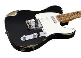 Fender Custom Shop 1952 Heavy Relic Telecaster Black