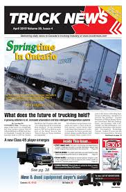 Truck News April 2010 By Annex-Newcom LP - Issuu Council Vehicle Stock Photos Images Alamy Tmc Panelists Discuss Impact Of Urban Emission Regulations Annual Cvention Malcolm D Cammeron Nigel_brinn On Twitter Already Getting Our Winter Maintenance Erica Schueller Direct From The Ohio State Highway Patrol Semi Truck Trailer Atas Technology Maintenance Ppt Download Tmcs 2015 Annual Meeting Transportation Dickinson Fleet Services To Debut New Mobile Report Truck Brake Ling Workshop And Fleet Operators
