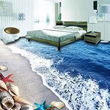 3d hintergrund bodentapete 3d strand sand muschel wohnzimmer