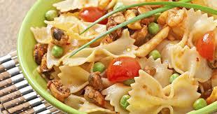 recette salade de pâtes au poulet classique 750g