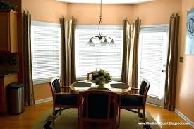 Bay Window Treatments Large Treatment Ideas Size Of Curtain For Windows In Dining Room Simple Formal
