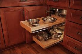 Blind Corner Base Cabinet Organizer by Kitchen Corner Base Cabinet Options Under Cabinet Pull Out