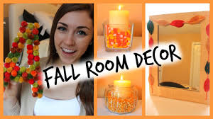 diy easy fall room decor ways to decorate seasonbeauty97 youtube