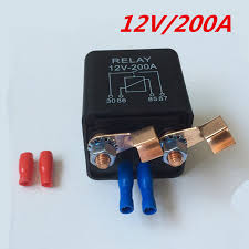 100 Heavy Duty Truck Battery 2pin Car Boat Relay 12V 200A For Motor