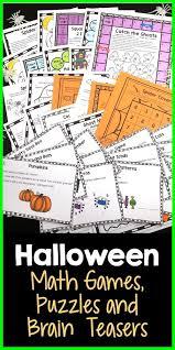 Halloween Brain Teasers Math by 501 Best Classroom Printables Images On Pinterest Maths