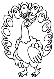 Peacock Mandala Coloring Page Adults Detailed Pages For Printable