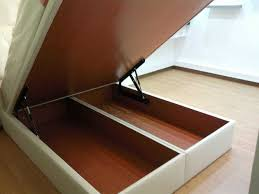 bed frame with drawers large porcelain tile building a storage