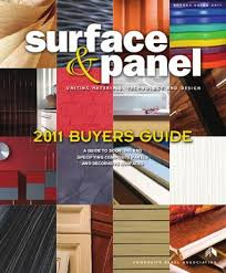 surface and panel 2012 buyers guide by bedford falls