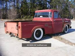 1960 Ford F100 Pick Up Truck Rat Hot Rod Custom Lowered Wide Whites ... Why Nows The Time To Invest In A Vintage Ford Pickup Truck Bloomberg 1960 F100 Classics For Sale On Autotrader This Sema Build Will Make You Say What Budget Wheels Pinterest Trucks And Classic Ranchero Red Motormax 79321acr 124 F1 Street Legens Hot Rods The Show 2016 Youtube Ford 12 Ton Short Bed 460 Big Block Power C6 Frankenford With Caterpillar Diesel Engine Swap Classiccarscom Cc708566 To 1970 Trucks For Best Resource Nice Lowered Stance Satin Black Paint Job