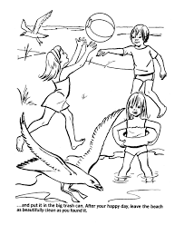 Colouring Pages For Environment Top