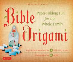 Amazon Bible Origami Kit Paper Folding Fun For The Whole Family 9780804843065 Andrew Dewar Books